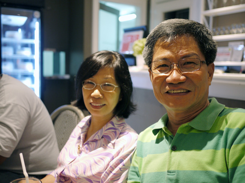 My Tita Nenette and my Dad