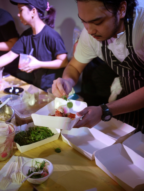 Chef Mikko Reyes of Hungry Hound