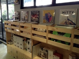 Records for sale at Craft, Katipunan