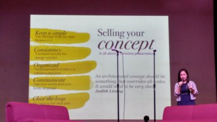 Shared this topic with graduating students: Selling your Design Concept