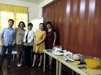 My HE290/390B Class with Dr. Ines De Guzman♥