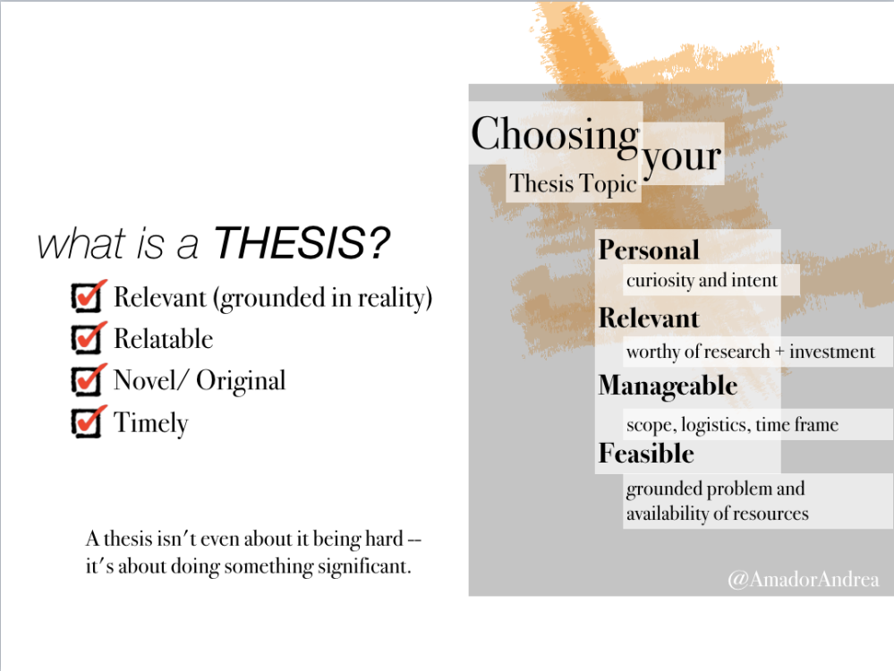 a good thesis statement for a career essay